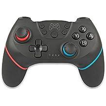 KINJOHI Wireless Controller für Nintendo Switch, Switch Pro Controller, RegeMoudal Switch Gamepad Joystick mit Rechargeable Akku, Double Shock,6 Achsen Gyroskop,Turbo Funktionen für Nintendo Switch
