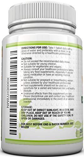Vitamin B-Komplex – alle 8 B-Vitamine in einer Tablette – Vitamine B1, B2, B3, B5, B6, B12, D-Biotin & Folsäure – 6-Monats-Versorgung – 180 Tabletten – Nahrungsergänzungsmittel von Nu U Nutrition - 6
