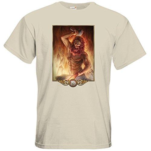 getshirts - Das Schwarze Auge - T-Shirt - Götter - Ingerimm Natural