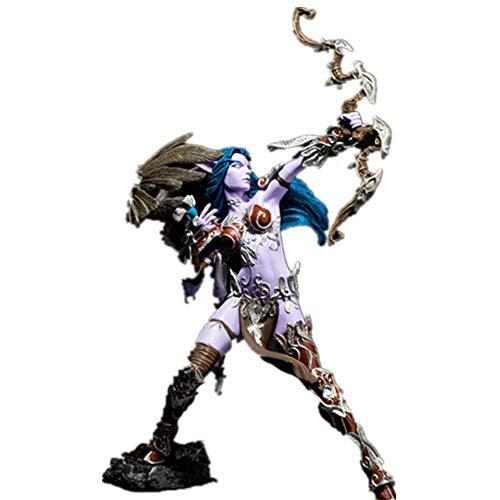 Vokaer World Of Warcraft Elf Shooter Action Figur Pvc Figure Doll Toy Model Wow Figur