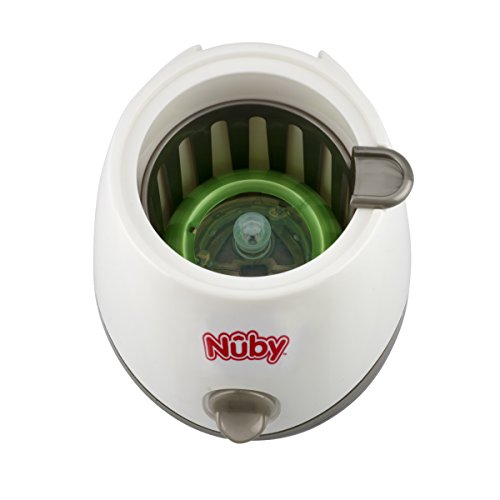 Nuby One-Touch 2-in-1 Electric Baby Bottle Warmer & Sterilizer