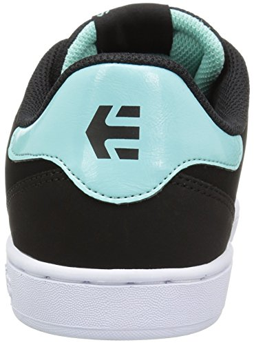 Etnies Fader Ls W's, Scarpe da Skateboard Donna BLACK/LIGHT BLUE