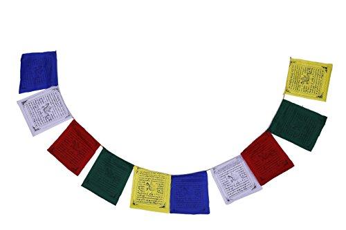 Bermoni (5 Cuerdas x 10 Banderas) - FH-FLAG-101 (M5) Banderas del rezo del algodón Que revolotean...