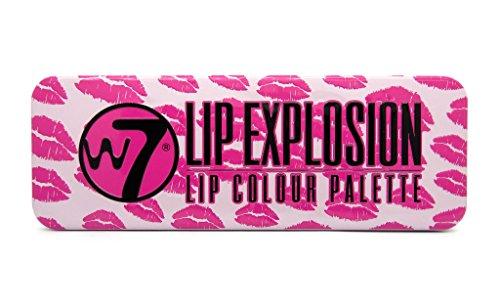 W7- Lèvre - Explosion Palette de 12 Couleurs - Femme - Une unité - 8g