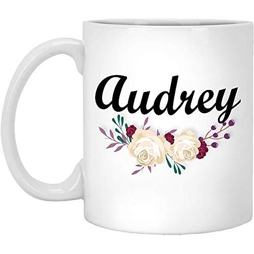 Audrey Becher,Audrey Kaffeebecher,Lustige Audrey Becher,Geschenk Für Audrey,Geburtstagsgeschenk Für Frauen 11Oz