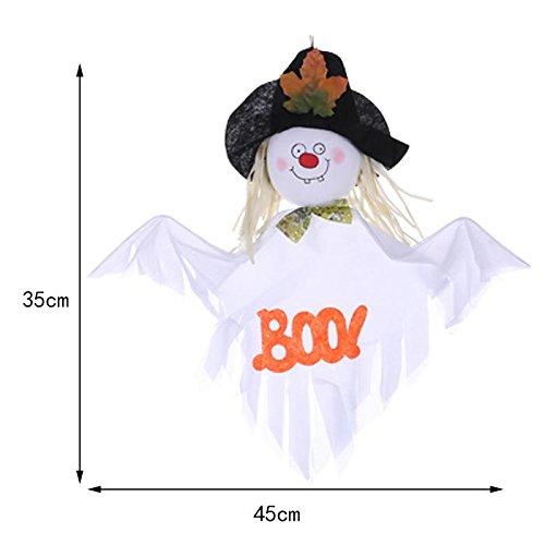 ChengBai Halloween Requisiten mall Bar ghost Haus eingerichtet und dekoriert liefert Hexe Kürbis Besen idyllische Vogelscheuche Ornamente, jacquard (Vogelscheuche Anzug)