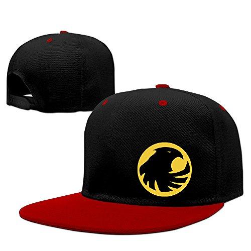 teenmax-unisex-birds-of-prey-logo-hip-hop-baseball-caps
