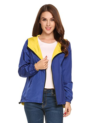 SummerRio -  Giacca impermeabile  - trench - Donna Blu reale