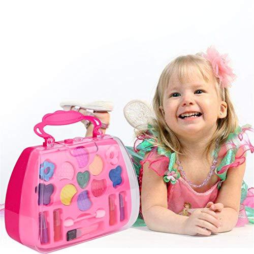 Happy Event Princess Girl's Pretend Play Spielzeug Deluxe Makeup Palette Set Non Toxic für Kinder (Kids Make-up Cat)