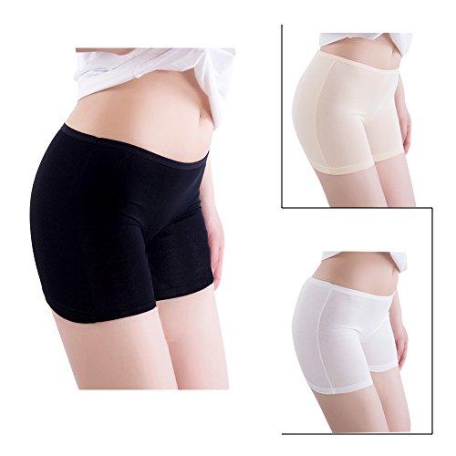 Damen Panties Hose Comfort,Seamless Damen Höschen Hipster Shorts- Modal Baumwolle Stretch Boxer Slip-bequeme Höschen (Höschen Bequeme)