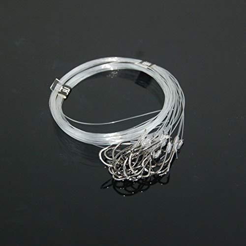 Tie Wire Hook String Haken Anti-wicklung Gebundene Haken Pillen Welt Haken Angeln Draht String Haken Fisch Zubehör ()