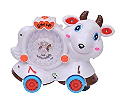 A R Enterprises Musical Sheep with lighting Effects