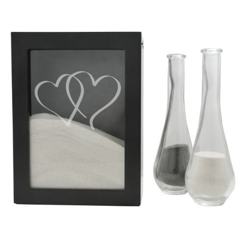 rt Design Sand Ceremony Shadow Box, Black by Cathy's Concepts (Sand Shadow Box)