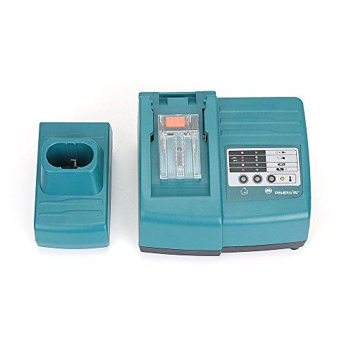 POWERAXIS 1.5A 7.2V-18V Ni-MH/Ni-CD/Li-ion Akku Ladegerät Ersetzen DC18RA DC18RC passend für Makita Werkzeug Akku BL1830 BL1840 BL1845 BL1850 BL1430 BL1415