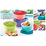 Tupperware Small Round Containers 400 Ml, Set Of 4