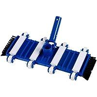 well2wellness ® Aspiradora de suelos de piscina/ Aspiradora de piscina '8-Rad Flex' con cepillos laterales