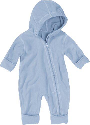 Playshoes Unisex - Baby Overall Fleece-Overall von Playshoes, Art. 421002, Gr. 74, Blau (17 bleu)