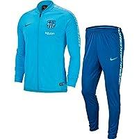 Nike FCB M NK Dry SQD TRK Suit K Tracksuit, Hombre, Equator Blue/Vivid Sky/Coastal, L
