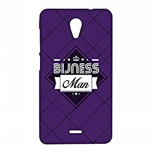 RANGSTER Bijnessman-Ophis Ophis Matte Finish Mobile Case For Micromax Unite 2 (A106)-Purple
