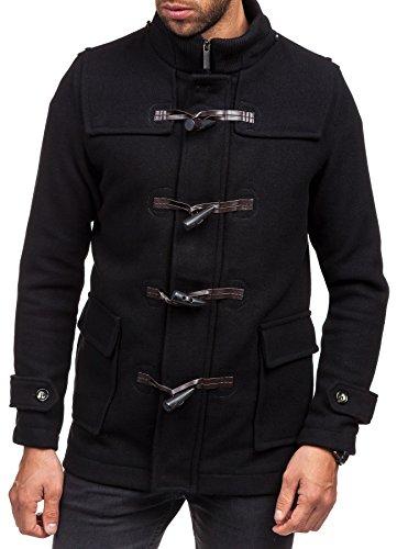 BOLF - Manteau classique – Elégant - KAMLIN 4902 - Homme Noir