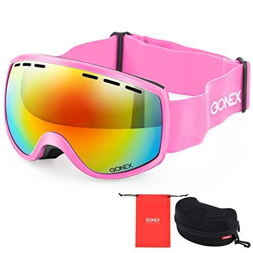 Gonex Gafas Esquí Protección UV Anti-Niebla Lente