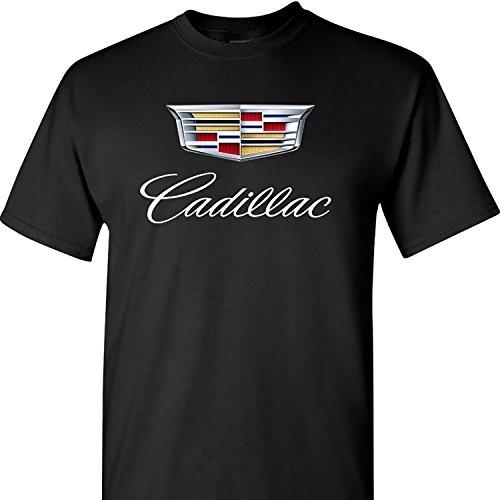 brand-new-caddy-cadillac-logo-on-a-black-t-shirt