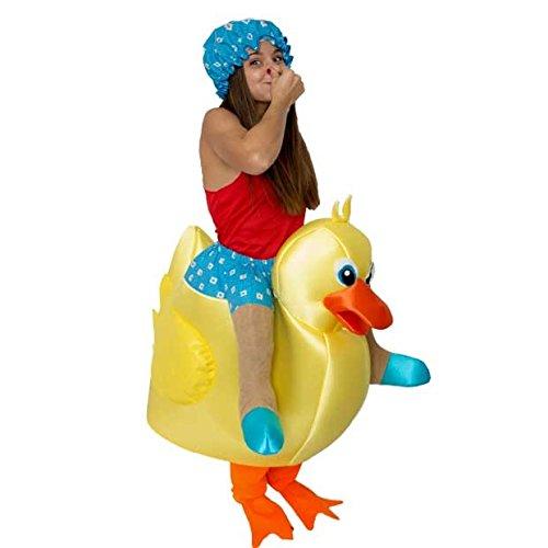 Imagen de disfraz de montado en pato de baño