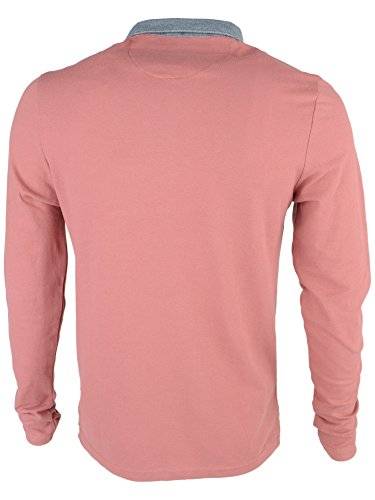 Brave Soul, Sport Shirt Uomo Washed Rose