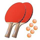 Sport-Thieme® Tischtennisschläger-Set 'Paris'