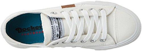 Dockers by Gerli 40th201-790500, Baskets Basses Femme Blanc (Weiss)