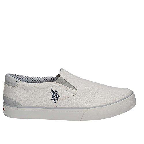 Schuhe Stoff Herren U.S. Polo Assn Bianco