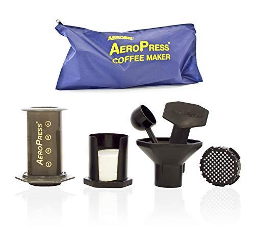 Aerobie Kaffeeautomat, Schwarz, It Makes 1 to 4 Cups of Coffee or Espresso