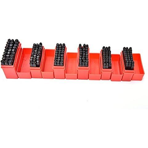 Welecom punzón de acero sello Die 27pcs de metal Set Sellos letras del alfabeto Craft herramientas, 2,5