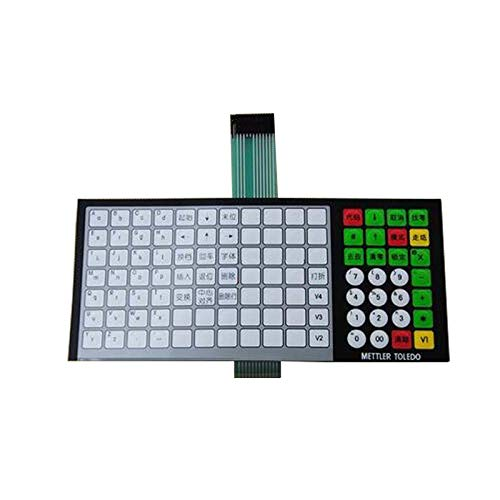 Tastatur für METTLER Toledo 3600 3680 3650 Elektronische Waage Englisch Version -