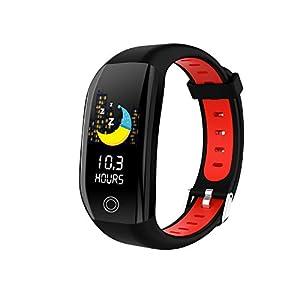 HQHOME Fitness Tracker mit Pulsmesser Fitness Armband Wasserdicht IP68 Schrittzähler Uhr Pulsuhren Smart Armband Uhr Aktivitätstracker mit Schlaf Monitor Kompatibel mit Android iOS Smartphone