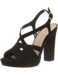 2da3ec17627 Amazon.co.uk  Block Heel - Sandals   Women s Shoes  Shoes   Bags