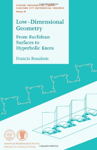 Low-dimensional Geometry: From Euclidean Surfaces to Hyperbolic Knots (Student Mathematical Library)