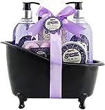 BRUBAKER 'Lavender Vanille Love' Set de regalo de baño con bañera...