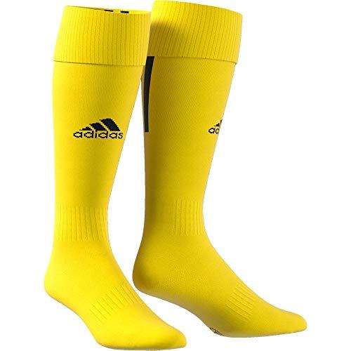 adidas Erwachsene Santos 18 Socken, Yellow/Black, EU 37-39