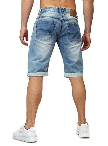 New Stone -  Pantaloncini  - Uomo Hellblau