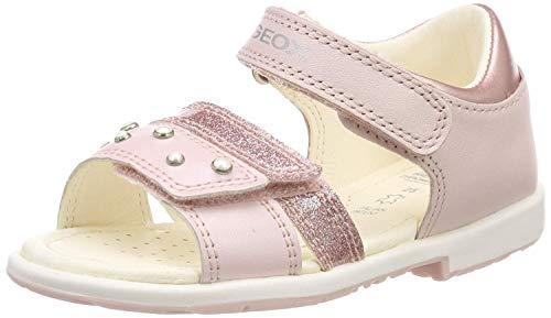 Geox Baby Mädchen B Verred a Sandalen, Pink (Lt Rose C8172), 27 EU