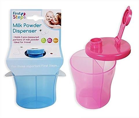 Distributeur de lait en poudre 3compartiments