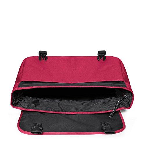 Eastpak Delegate Borsa Messenger, 20 litri, Multicolore (Brize Bw), 38 cm Rosa (One Hint Pink)