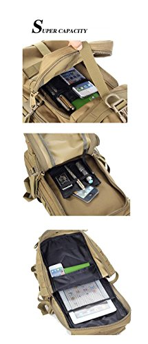Outdoor wasserdichte Tarn Riding Rucksack / schwarz Computer Fotografie Tasche / 30L Military Tactical Rucksack Camouflage Rucksäcke Assault Pack für Männer cp camouflage
