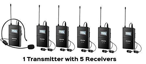 ANLEON MTG-100 Funkmikrofon Das digitale Führungs-Dolmetscher Tourguide (1 Sender und 1 Empfänger)