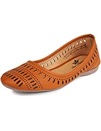 Thari Choice Woman Faux Leather Belly Shoe