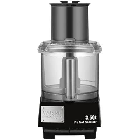 Waring Commercial WFP14S Batch Bowl Food Processor with LiquiLock Seal System, 3-1/2-Quart by Waring
