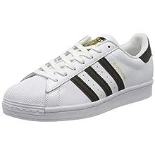 adidas Men's Superstar Sneaker, FTWR White/Core Black/FTWR White, 10 UK