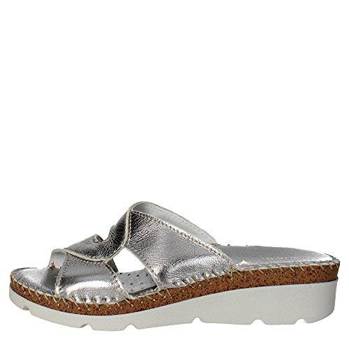 Cinzia Soft IU5009L 001 Pantoletten Damen Silber