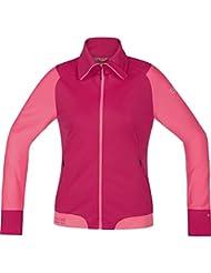 GORE BIKE WEAR Damen Warme Soft Shell Mountainbike-Jacke, Stretch, GORE WINDSTOPPER, POWER-TRAIL LADY WS SO Jacket, JWSFLO